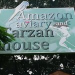 Entrance to Aviary and Tarzan House