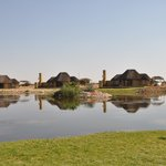 Chalets near the Waterhole