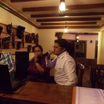 In Singing Mood At Malana Bar