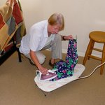 "The ""ironing board"" in Room 3"