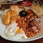 Full English breakfast. Mmmmmmmmm!!
