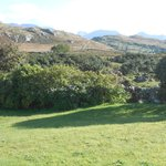 A view of the Twelve Bens from the Clifden Farm House B&B