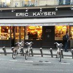 Eric Kayser across the hotel
