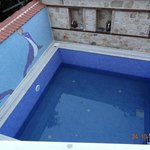 12 inches filled pool