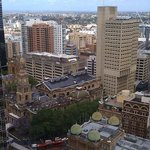 View of QVB from 32nd floor