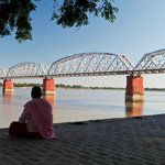 Old Sagaing bridge Mandalay