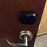 Touchless door locks.  You still have to turn the handle though, ha!