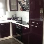 lovely purple new kitchen