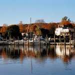 ESSEX HARBOR AUTUMNAL MORNING