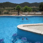 Enjoy our pool in rural tranquil surroundings
