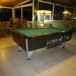 Area at back of bar/restaurant - pool table, pc's xbox