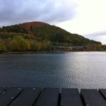 lodge on Loch Lomond from Luss pier