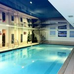 Lodge on Loch Lomond swimming pool