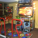 The Pump It Up Machine in the Atrium.
