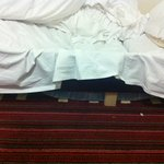 Slats fell through the bed