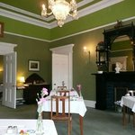 The Georgian breakfast room