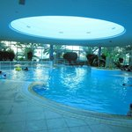 Fine Indoor Pool With Constant Jacuzzi