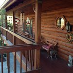 Foto de The Log House Lodge