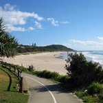 Easy walking distance to beach and good walking tracks
