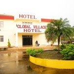Entrance to the Global Village Hotel