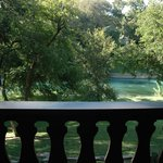 Nice view of the Comal from our room