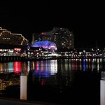 View from Darling Harbour (5 min from hotel)