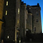 Dornock Castle at night fall