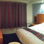 Very comfortable, basic room. Nice stay.