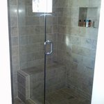 Large Bathroom with Shower separate from Tub