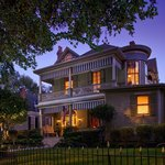 Dusk at Devereaux Shields House