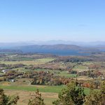 Panorama from Mt. Philo summit