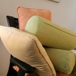 Alternative to Sleeping on Wornout Mattress - Carefully remove pillows from Sofa and use Sofa as