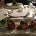 Pork and Scallops at the Mill House Hotel