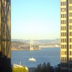 Bay Bridge view from Room 1814