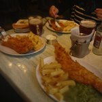 Fish & chips // Scampi