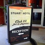 THE STUART HOTEL ALSO HAS A NIGHTCLUB