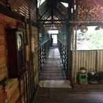hallway to the longhouse