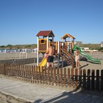 playground on the beach