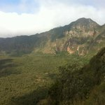 Top of Mt Longonot Crater (Mountain viewable from Lake Naivasha & Hells Gate)