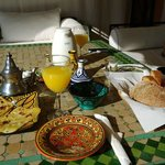 Delicious French/Moroccan breakfast