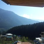 View of Manali Hills from Deluxe Room