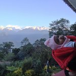 KANCHENJANGA FROM BALCONY