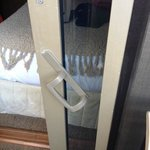 Patio door handle