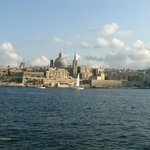 Fab view from room 411 of Valletta across the harbour