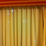 holes in blackout drapes