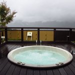 Outdoor onsen bath