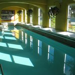 Vintage indoor pool.