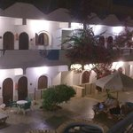 Dahab Plaza hotel at night