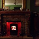 Cosy Log Fire in Lounge