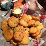 Deep Fried Pickles - Very good!